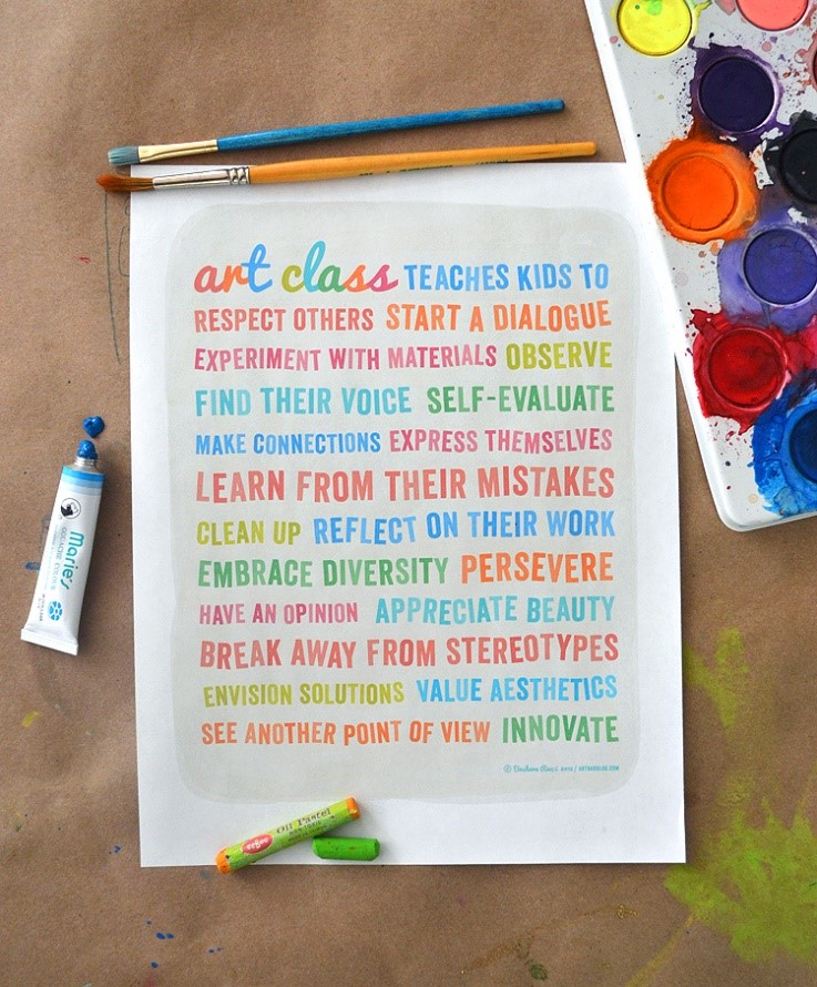 Art class teaches...